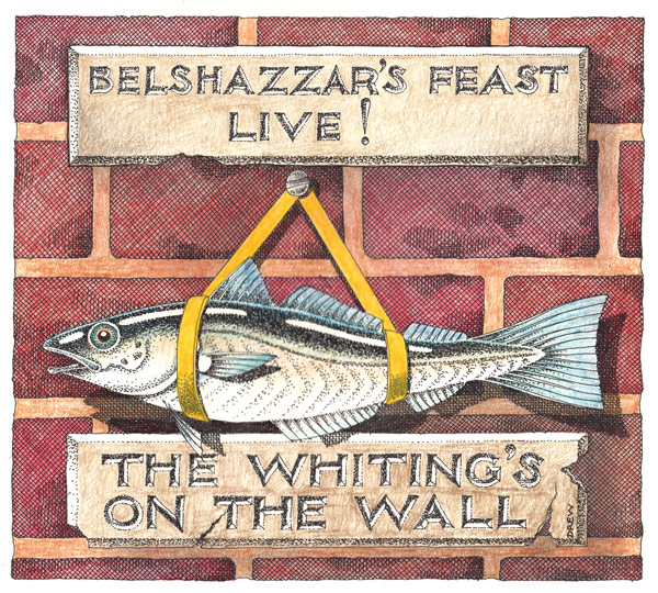 whitings on the wall
